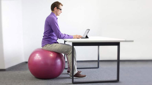 Pilates ball relieve back pain